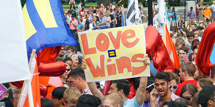 Gay marriage declared legal across the US in historic Supreme Court ruling 2